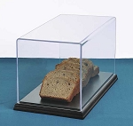 Rectangular Food Covers with Hardwood Bases