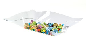 Drape Form Candy Tray - PACK OF 3