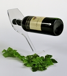 Balancing Wine Glass Bottle Holder