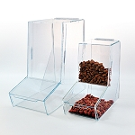Dry Food Dispenser with Product Display Front