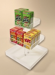 Tiered Cereal Box Tower