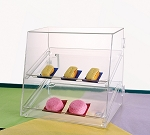 Bakery Display Case with 2 Trays
