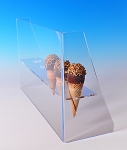 Ice Cream Cone Holder with Guard