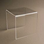 Square Acrylic Risers - Made in 16 Sizes