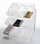 Organizer for Condiments, Straws, Packets