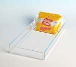 Candy Trays - Acrylic Trays for Fudge, Chocolates, Cookies - Sold in 2 PACKS